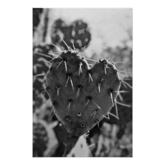 Prickly Heart Poster