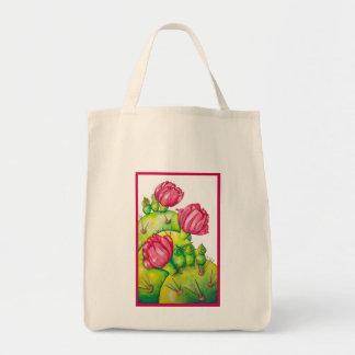 Prickly Pear Bloom Tote Bag