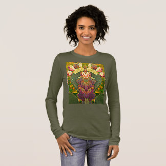 Prickly Pear Cactus Photo Art Long Sleeve Tee