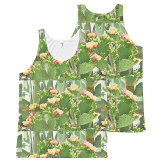 Prickly Pear Cactus Unisex Tank Top