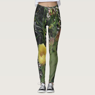 Prickly Pear in Bloom Leggings