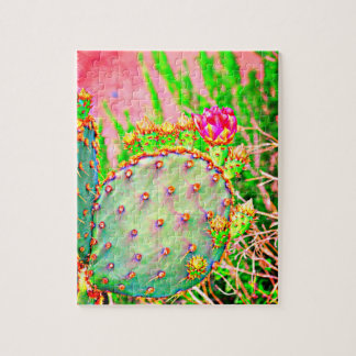 Prickly Pear In Pink Puzzle