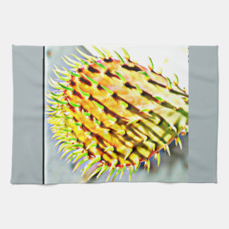 Prickly Pear Paddle Cactus Kitchen Towel