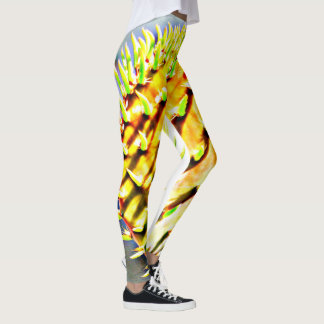 Prickly Pear Paddle Cactus Women's Leggings. Leggings