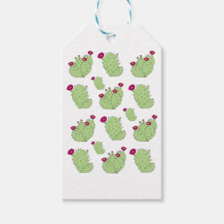 Prickly Pear Pattern Gift Tags