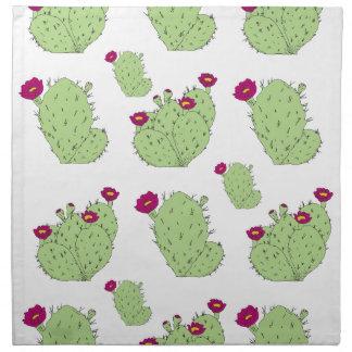 Prickly Pear Pattern Napkin