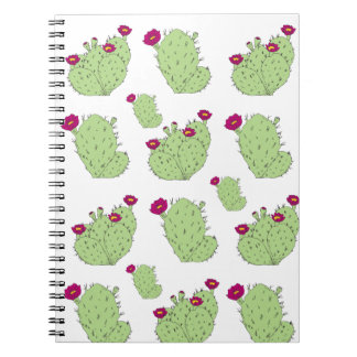 Prickly Pear Pattern Notebook