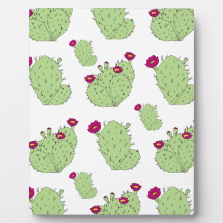 Prickly Pear Pattern Plaque