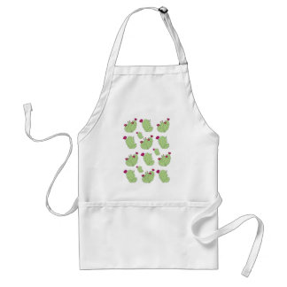 Prickly Pear Pattern Standard Apron
