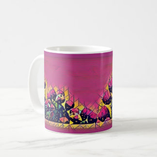 Prickly Pear Sunset Canvas Coffee Mug