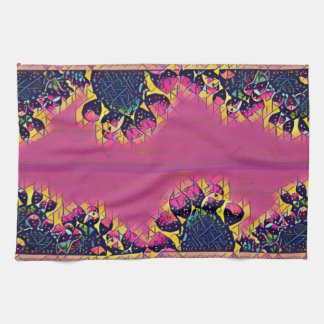 Prickly Pear Sunset Kitchen Towels