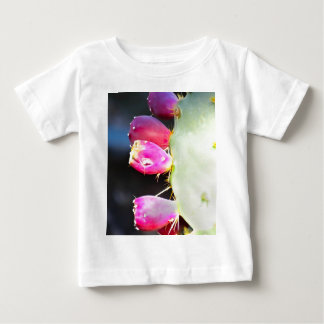 Prickly Pear Watercolor, Personalize! Baby T-Shirt