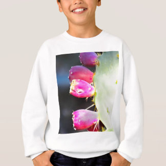 Prickly Pear Watercolor, Personalize! Sweatshirt