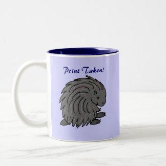 Prickly porcupine mug