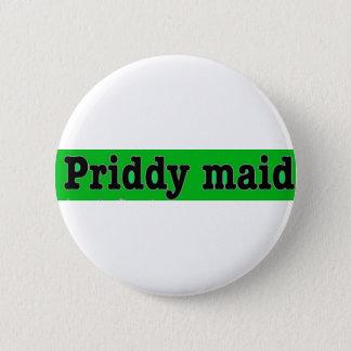 Priddymaid 2 Inch Round Button