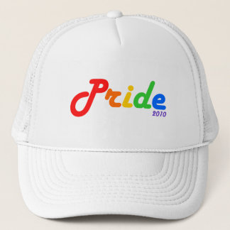 Pride 2010 Rainbow Design Hat
