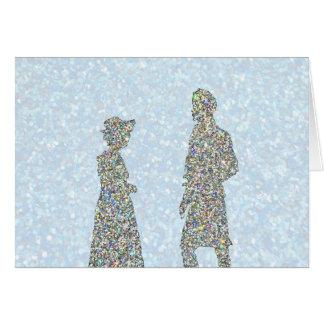 Pride and Prejudice Christmas Card