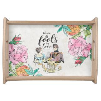 Pride and Prejudice - Fools in Love tray