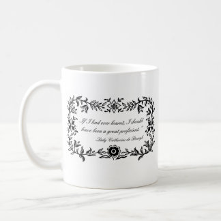 Pride and Prejudice Lady Catherine quote mug