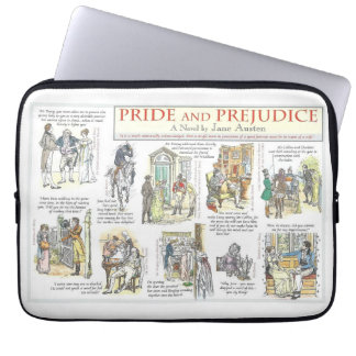Pride and Prejudice Laptop Sleeve