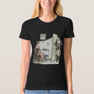 Pride and Prejudice - Mr. Darcy Visits Elizabeth T-Shirt