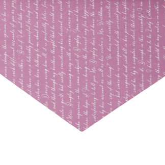 Pride and Prejudice Netherfield Ball Tissue Paper