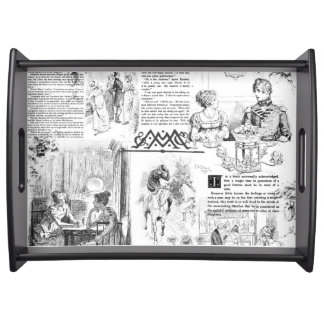 Pride and Prejudice pages tray