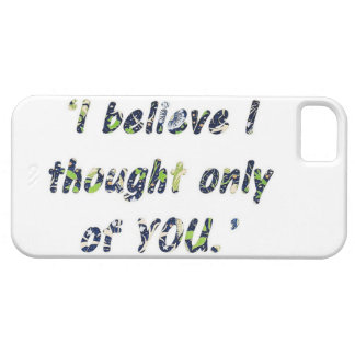 Pride and Prejudice Quote Case For The iPhone 5
