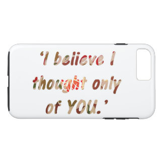 Pride and Prejudice Quote Case-Mate iPhone Case
