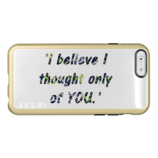 Pride and Prejudice Quote Incipio Feather® Shine iPhone 6 Case