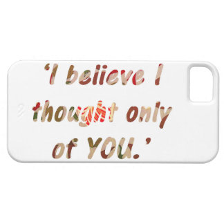 Pride and Prejudice Quote iPhone 5 Cover