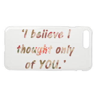 Pride and Prejudice Quote iPhone 8 Plus/7 Plus Case