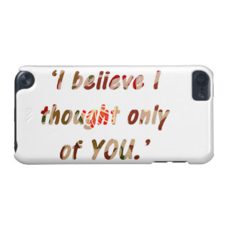 Pride and Prejudice Quote iPod Touch 5G Cover