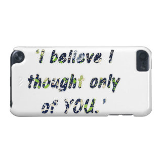 Pride and Prejudice Quote iPod Touch (5th Generation) Cover