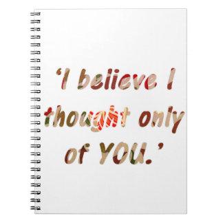 Pride and Prejudice Quote Notebook