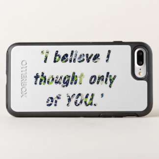 Pride and Prejudice Quote OtterBox Symmetry iPhone 8 Plus/7 Plus Case