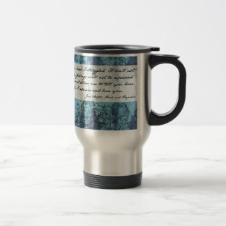 Pride and Prejudice Quote Stainless Steel Travel Mug