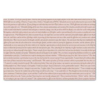 Pride and Prejudice Quote Tissue Paper
