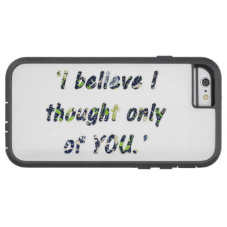 Pride and Prejudice Quote Tough Xtreme iPhone 6 Case