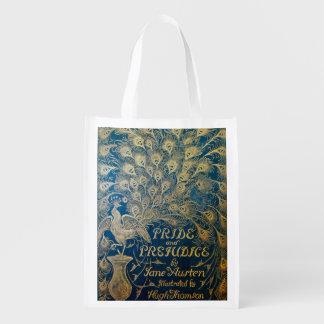 Pride and Prejudice Reusable Bag - Antique Cover Market Totes