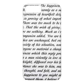 Pride and Prejudice Text iPhone 8 Plus/7 Plus Case