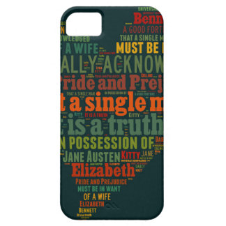 Pride and Prejudice Word Cloud Case For The iPhone 5