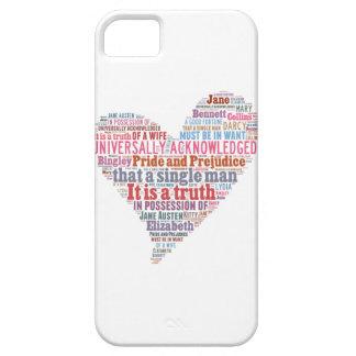 Pride and Prejudice Word Cloud Pink iPhone 5 Case