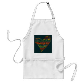 Pride and Prejudice Word Cloud Standard Apron