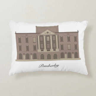 Pride and Prejudice's Pemberley on a Pillow