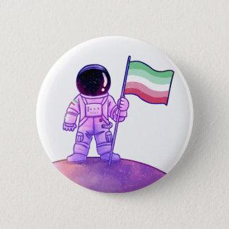 Pride Astronaut [Abrosexual] 2 Inch Round Button