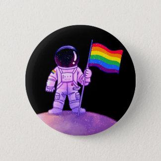 Pride Astronaut [Gay] 2 Inch Round Button