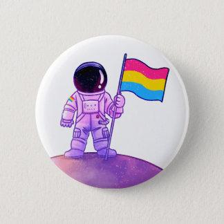 Pride Astronaut [Pan] 2 Inch Round Button