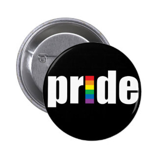 Pride Black Button