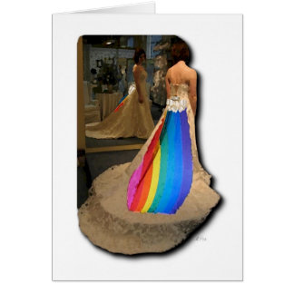Pride Bride Greeting Card